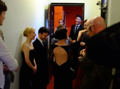 Backstage at the UK Tango Championships