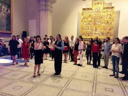 Special event, teaching at the V&A